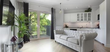Osiedle riverview 2 pokoje balkon wysoki standard