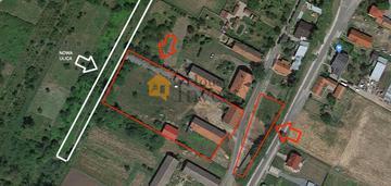 Duża działka budowlana blisko centrum prusic