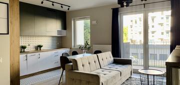 Dwupokojowe mieszkanie o wysokim standardzie