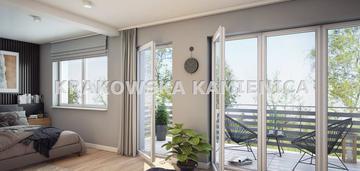 Niepołomice, mieszkanie 109,42m2, ogródek 123,11