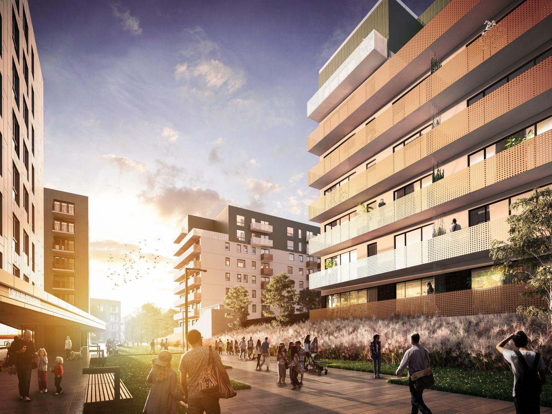 Mieszkanie w inwestycji: Mieszkaj w mieście - etap Aktorów budynek H.