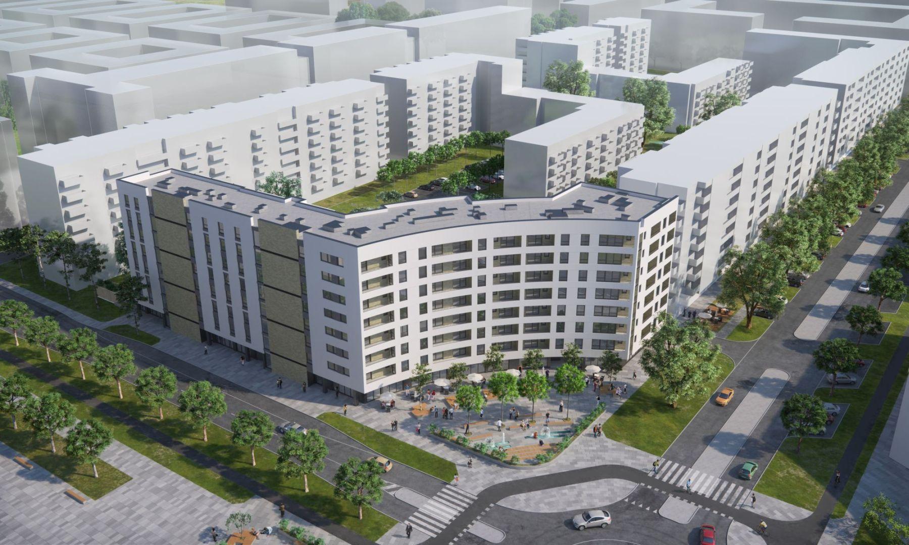 Mieszkanie w inwestycji: Mój Ursus etap 3