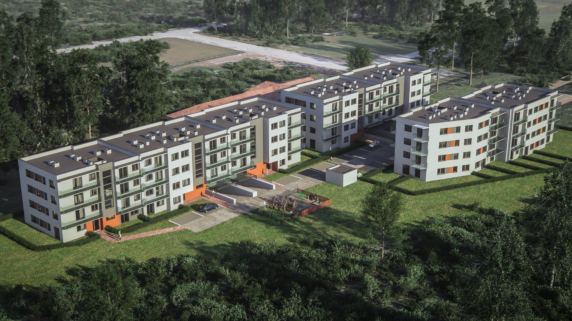 Mieszkanie w inwestycji: Osiedle Przy Parku