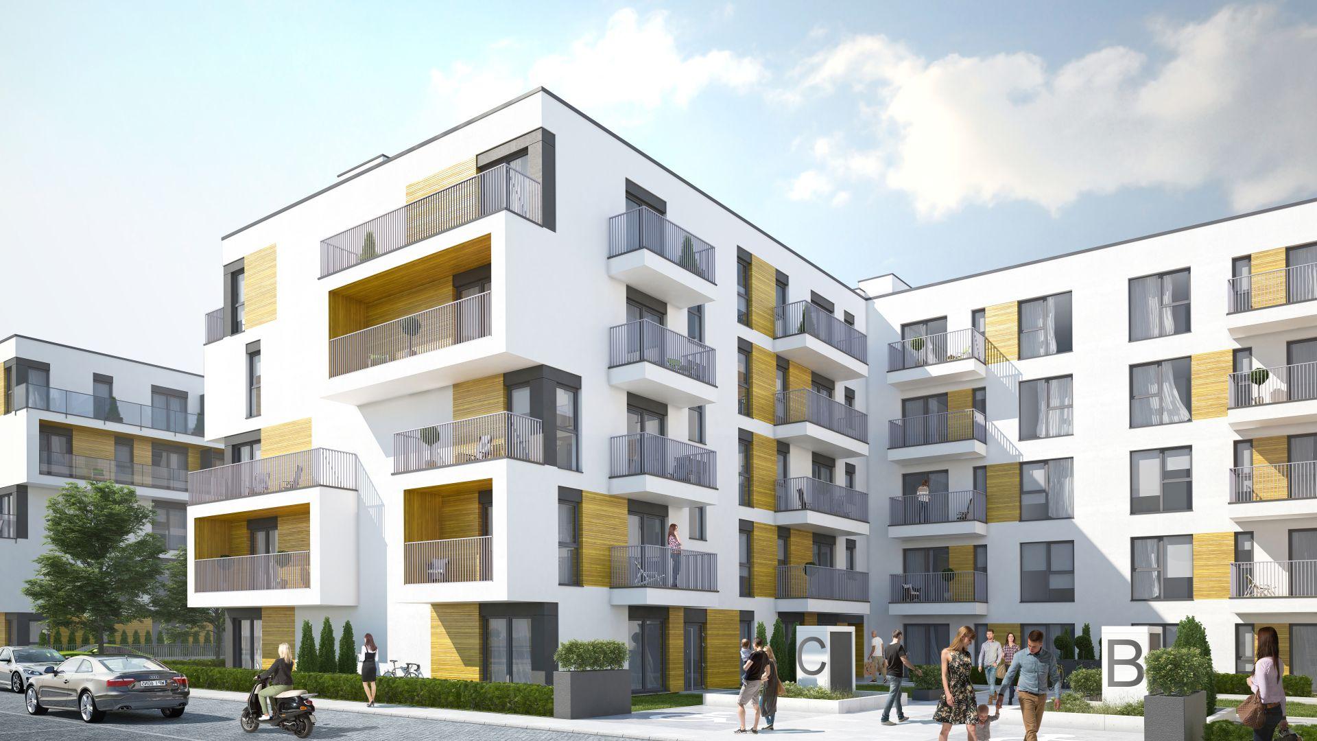 Mieszkanie w inwestycji: Stacja Dom etap III