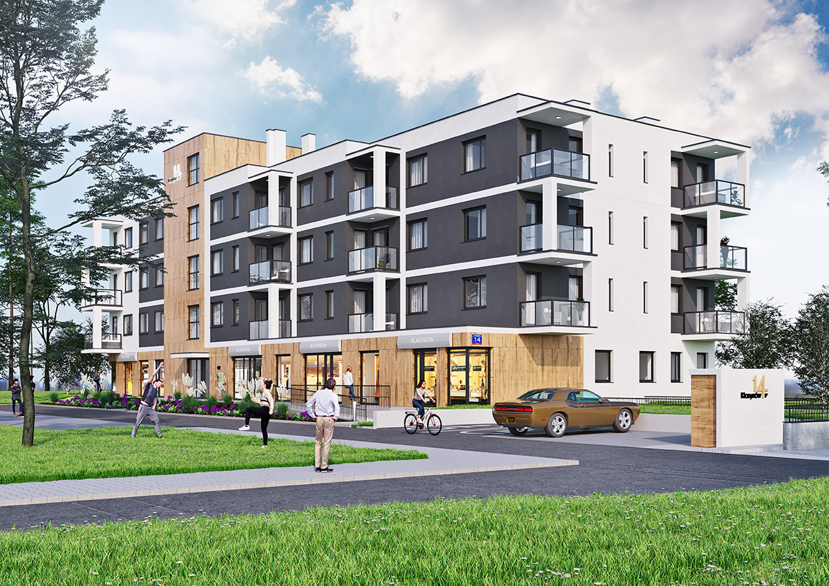 Mieszkanie w inwestycji: Klasyków 14
