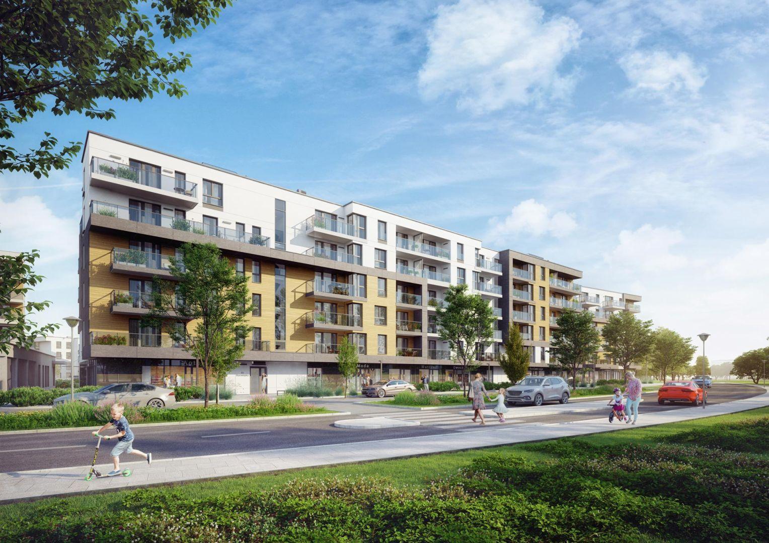 Mieszkanie w inwestycji: Przystań Letnica - etap II
