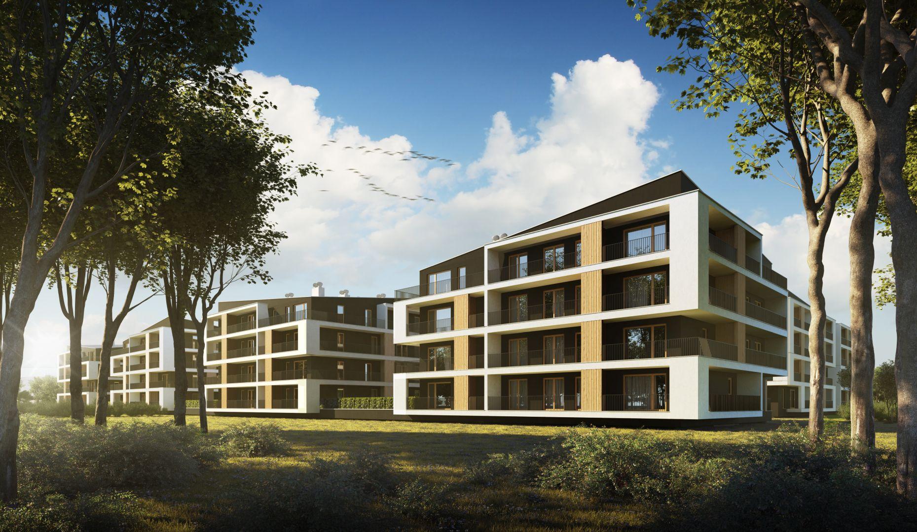 Mieszkanie w inwestycji: Dębowy Park