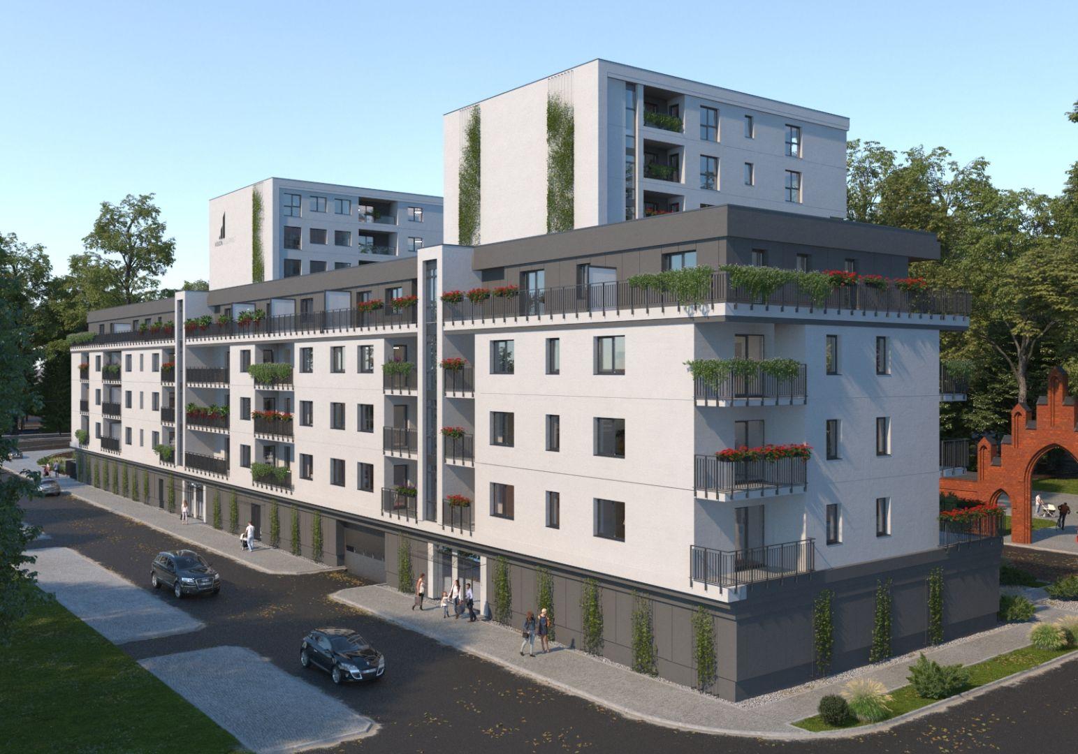 Mieszkanie w inwestycji: Rejtana Park